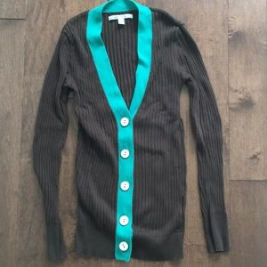 2/$20 🎃Old navy brown cardigan robbed top new S